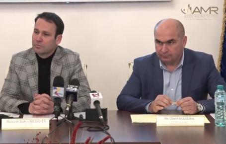 Bolojan şi Negoiţă anunţă veşti proaste de la Guvern: Banii pentru primării vor fi dijmuiţi, 'va fi dezastru', 'ne transformă în sclavi'
