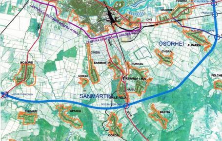 Drum nou! Comunele Sânmartin şi Nojorid vor să îşi construiască propriul drum de legătură