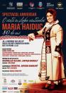 Spectacol aniversar Maria Haiduc: 'O viaţă în slujba cântecului'