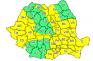 Cod galben de ninsori și frig, inclusiv în Bihor!